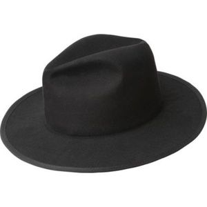 Berry Stylish Accessories - The Kensington: Wool Felt Wide Brim Structured Hat